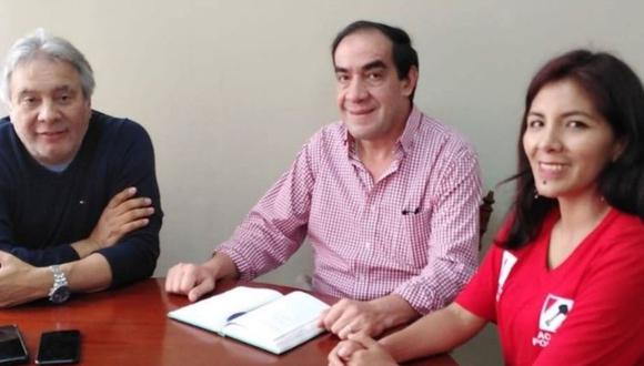 Los candidatos a la vicepresidencia de Acción Popular indicaron que Yonhy Lescano tiene grado de maestro obtenido en la Universidad de Chile, por lo que puede ser profesor universitario según la legislación vigente. (Foto: Andina)