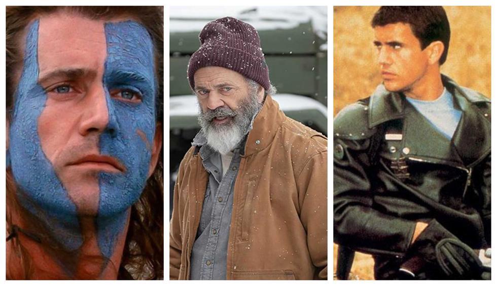 Todas las caras de Mel Gibson. (Foto: Difusión)