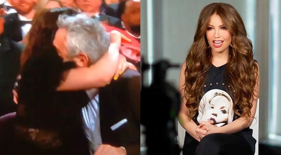"""Thalía explotó de emoción ante el triunfo de la mexicana """"Roma"""" en los premios Oscar 2019."""