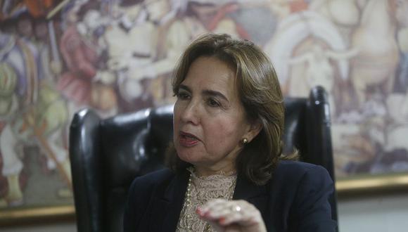 En entrevista a El Comercio, Elvia Barrios exhortó a los jueces a trabajar con imparcialidad. (Foto: Archivo)