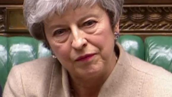 Theresa May pronunció un discurso este viernes ante el Parlamento en el que advirtió que era la última oportunidad para salvar el acuerdo del Brexit. (AFP).