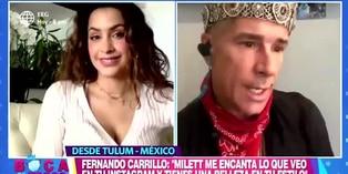 Fernando Carrillo sorprende a Milett Figueroa con propuesta de actuación
