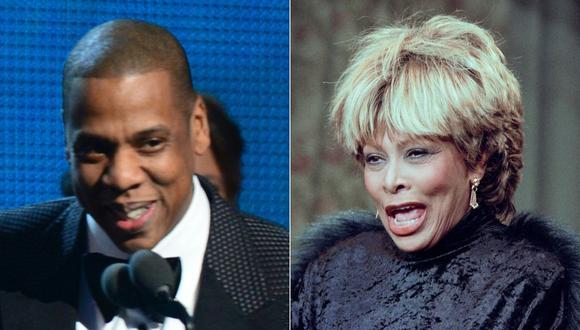 La cantante Tina Turner y el rapero Jay-Z fueron elegidos para ingresar en el Salón de la Fama del Rock and Roll. (Foto: AFP)