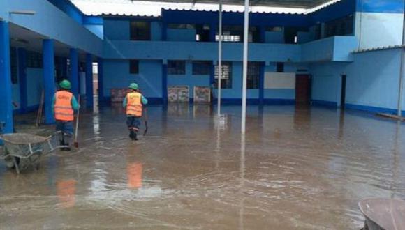 San Martín: inundaciones afectan 39 colegios hasta el momento