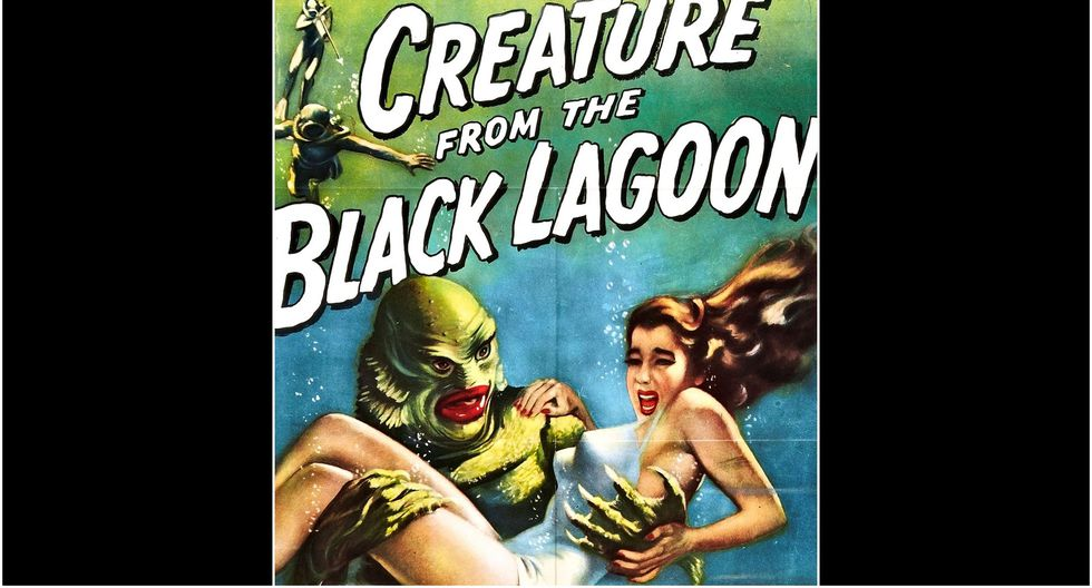 """Creature from the Black Lagoon"" (1954). (Foto: Difusión)"