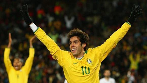 Dunga convoca a Kaká para duelos contra Chile y Venezuela