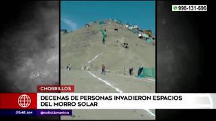 Chorrillos: vecinos denuncian invasión de espacios del Morro Solar