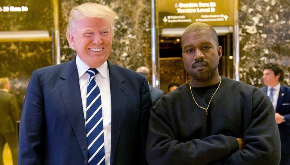 """El rapero Kayne West declara su """"amor"""" por Donald Trump. (AP)."""