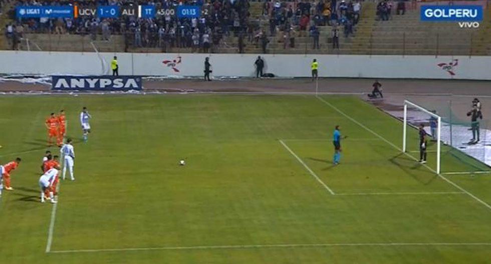 El GOL de Felipe Rodríguez a la UCV. (Foto: captura de video)