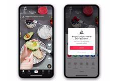 TikTok introduce advertencias sobre contenido no verificado para evitar que se comparta