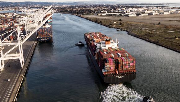 El pasado año, las exportaciones estadounidenses bajaron un 0,1%, mientras que las importaciones se redujeron un 1,4%. (Foto: EFE)