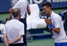 """Djokovic se defendió ante el supervisor: """"No ha tenido que ser atendida en el hospital"""""""