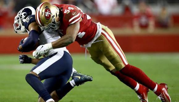 Los choques entre los jugadores son vitoreados por los aficionados a este deporte. (Foto: Getty Images)
