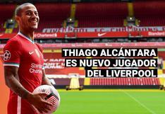 Liverpool oficializa a Thiago Alcántara como su nuevo fichaje