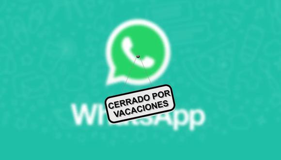 Conoce para qué realmente servirá el 'modo vacaciones' de WhatsApp y cómo activarla. (Foto: Android Ayuda)