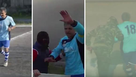 Un jugador pasó al retiro con una increíble puesta en escena. (Foto: stipsyking2003 en YouTube)