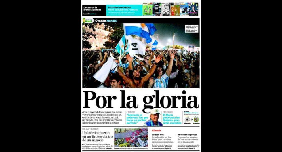 Final Copa del Mundo: así informan las portadas en el mundo - 6