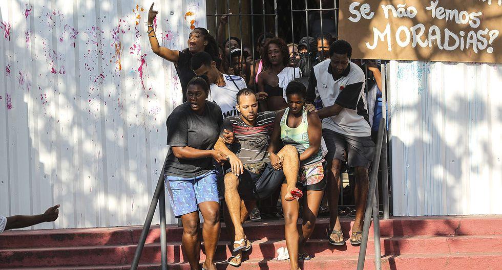 Brasil: Desalojan a invasores de edificio del club Flamengo - 10