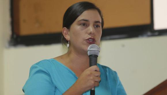 Verónika Mendoza postula por el partido Juntos por el Perú a la presidencia este 11 de abril. (GEC)