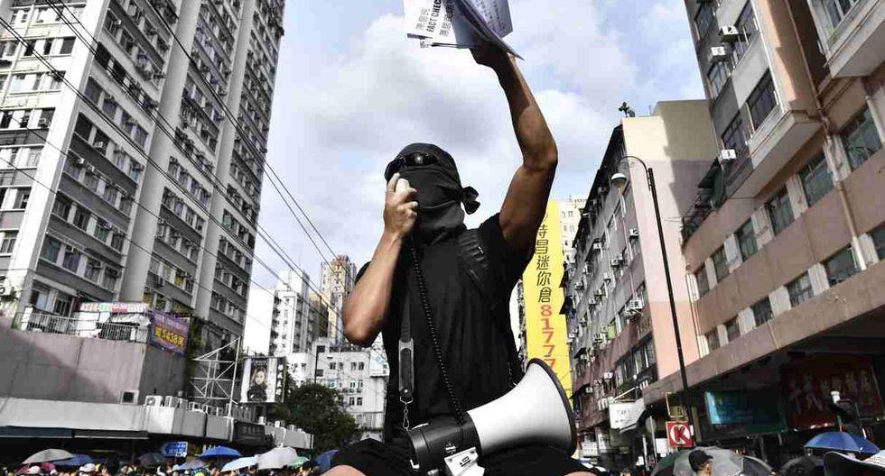 La policía autorizó la concentración finalmente, pero no el desfile. (Foto: AFP)