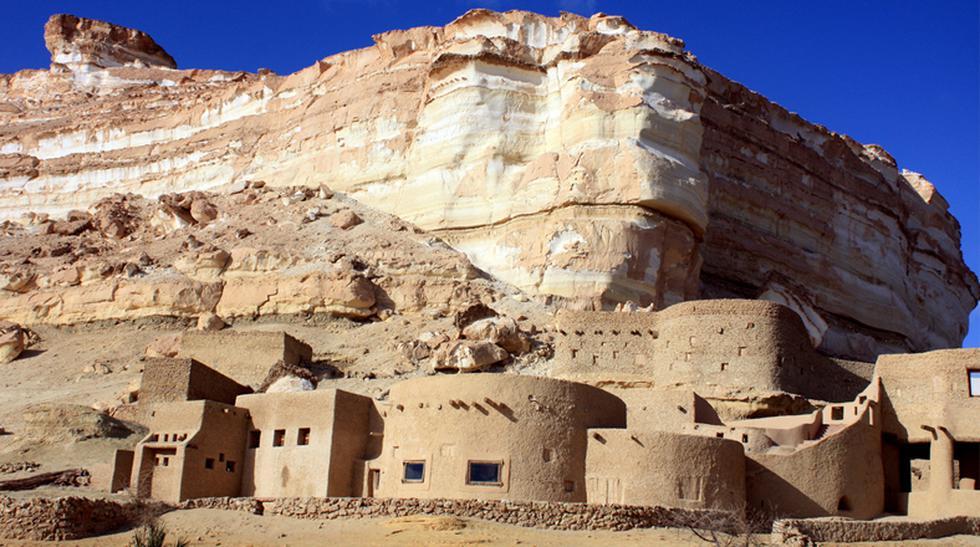 Conexión con el desierto: Mira este deslumbrante hotel egipcio - 1
