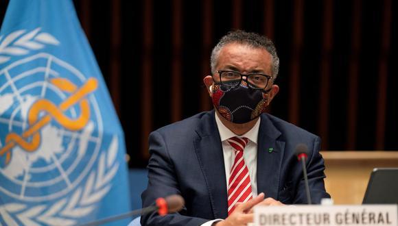 Tedros Adhanom Ghebreyesus, Director General de la Organización Mundial de la Salud (OMS) asiste a una sesión sobre la respuesta al brote de la enfermedad por coronavirus. (Christopher Black / OMS / Folleto vía REUTERS )
