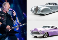 James Hetfield: museo presentará la exquisita colección de autos del vocalista de Metallica | FOTOS