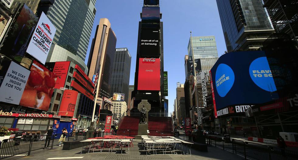 Nueva York es el epicentro del coronavirus en Estados Unidos. (Foto:  Justin Heiman/Getty Images/AFP).