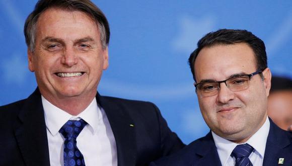 Jorge Oliveira es el octavo ministro del Gobierno de Jair Bolsonaro que se contagia de coronavirus COVID-19. (Foto: Reuters)
