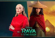 """Danna Paola pondrá su voz a la protagonista y a un tema de """"Raya y el último dragón"""""""