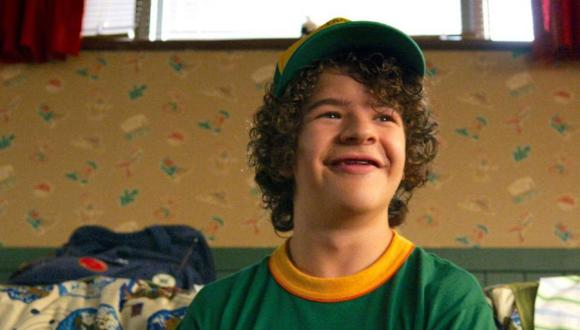 "El actor Gaten Matarazzo interpreta a Dustin en ""Stranger Things"", la exitosa serie de Netflix (Foto: 'Stranger Things'/ Netflix)"