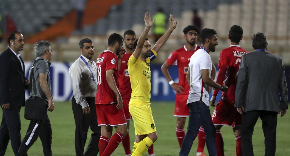 Xavi Hernández cerró su carrera deportiva con una derrota del Al Sadd en Irán. | Foto: Agencias