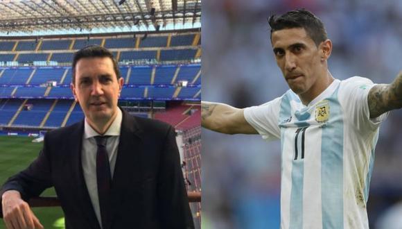 El relator de los partidos de la Champions League dio un comentario sobre la ausencia de Ángel Di María en el inicio de las Eliminatorias.