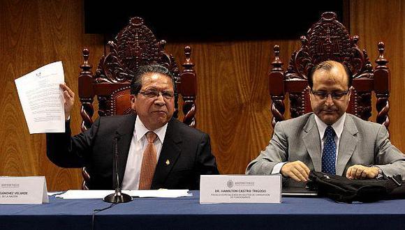 """""""Fiscal Castro ha abierto investigación a Odebrecht y a Barata"""""""