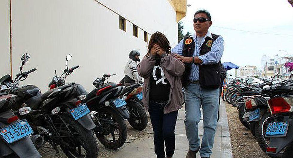 Trujillo: una menor fue detenida tras cobrar cupo a comerciante