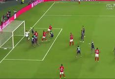Benfica vs. PSV: Weigl aprovechó un rebote en el área para marcar el 2-0 en Champions League | VIDEO