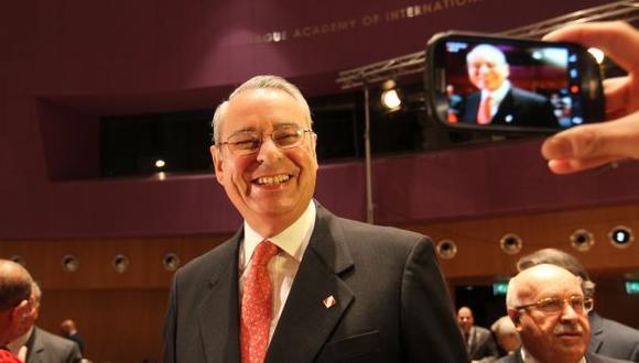 El embajador Wagner es el líder del equipo jurídico ante La Haya (Foto: Juan Ponce)