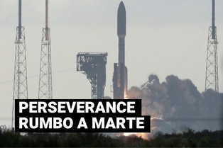 NASA: El rover Perseverance ya está rumbo a Marte