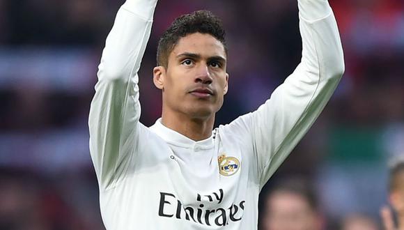 Raphael Varane habría decidido dejar Real Madrid. (Foto: Agencias)