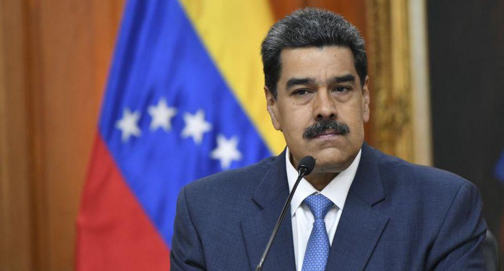 Nicolás Maduro ofreció este viernes en Caracas su primera conferencia de prensa del 2020. (Foto: Bloomberg).