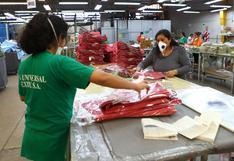 SNI: 400 mil puestos de trabajo en sector textil-confecciones en riesgo ante exceso de importaciones