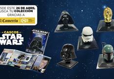 Colecciona los cascos de Star Wars con El Comercio