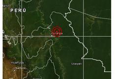 Ucayali: sismo de magnitud 5,3 fue sentido esta noche en la provincia de Pucallpa