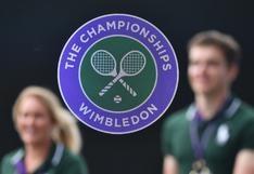 Wimbledon 2020 no se jugará a causa de la pandemia por el coronavirus