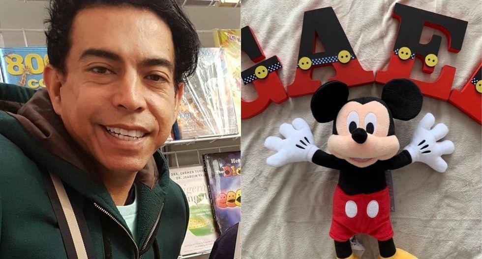 Ernesto Pimentel presentó a su hijo de solo 4 meses. (Foto: Instagram)