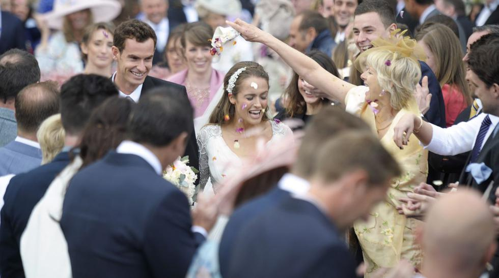 Tenista Andy Murray se casó en Escocia con Kim Sears (FOTOS) - 6