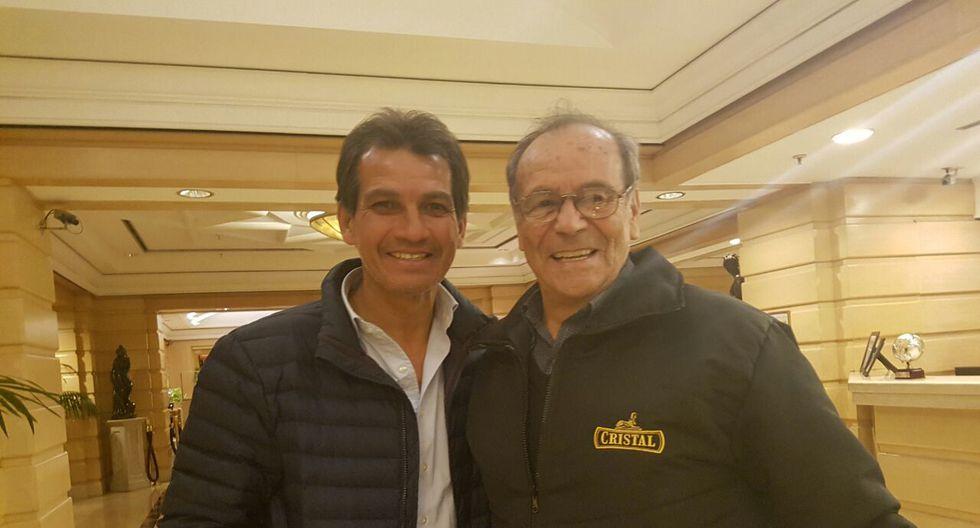 Selección: Navarro y 'Cachito' Ramírez estarán en la Bombonera. (Foto: Pedro Canelo)