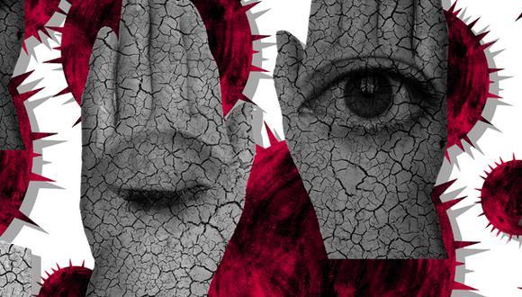 """""""Nadie puede vivir lo que los afectados directos, pero [cerrar los ojos e imaginarlos] me ayudó a sentir aquella suma inmensa de dolores familiares que las frías cifras terminaban por ocultar"""". (Ilustración: Giovanni Tazza)."""