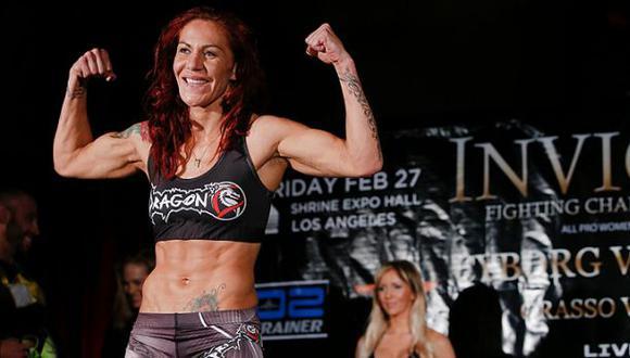 UFC: Cris Cyborg debutará el 14 de mayo contra Leslie Smith