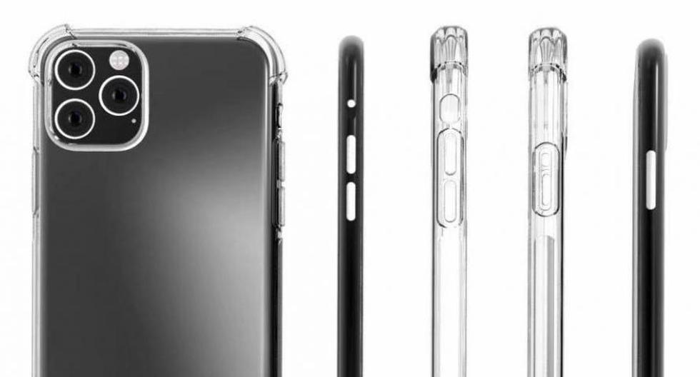 Así luciría el juego de cámaras del nuevo iPhone, según filtraciones. El diseño no ah agradado a los usuarios. (Foto: SlashLeaks)